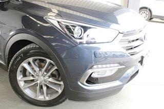 2016 Hyundai Santa Fe DM3 MY16 Highlander Blue 6 Speed Sports Automatic Wagon.