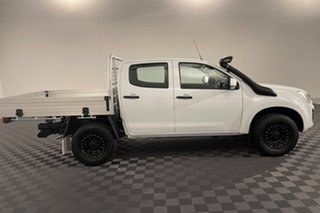 2018 Isuzu D-MAX MY17 SX Crew Cab White 6 speed Automatic Cab Chassis