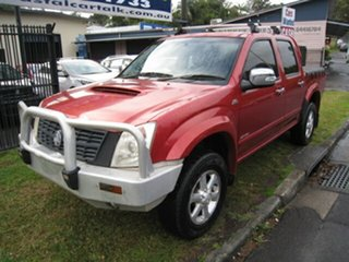 2007 Holden Rodeo RA MY07 LT (4x4) Sports Pack Red 4 Speed Automatic Crew Cab Pickup.