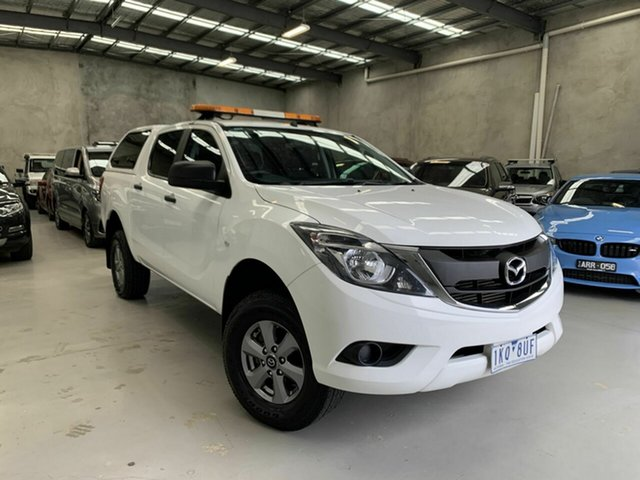 Used Mazda BT-50 UR0YG1 XT Coburg North, 2017 Mazda BT-50 UR0YG1 XT White 6 Speed Sports Automatic Utility