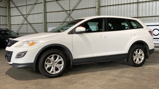 2010 Mazda CX-9 TB10A3 MY10 Classic White 6 Speed Sports Automatic Wagon.