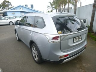 2014 Mitsubishi Outlander ZJ MY14.5 ES 4WD Silver 6 Speed Constant Variable Wagon