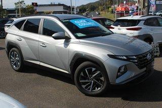 2021 Hyundai Tucson NX4.V1 MY22 Elite D-CT AWD Shimmering Silver 7 Speed.