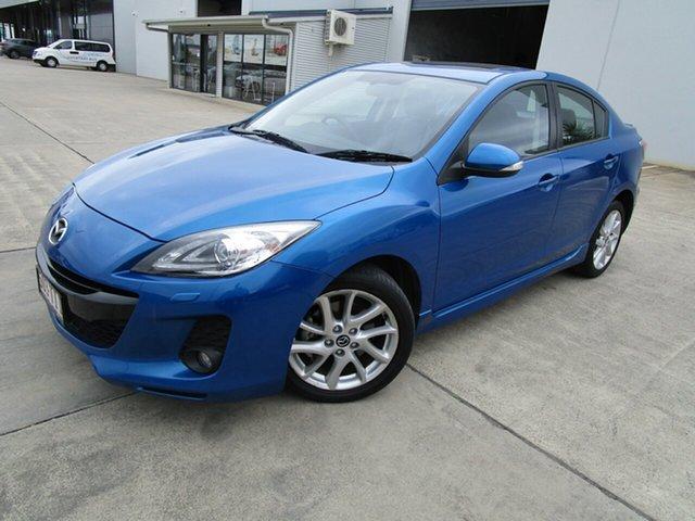 Used Mazda 3 BL10L2 MY13 SP25 Activematic Caboolture, 2013 Mazda 3 BL10L2 MY13 SP25 Activematic Blue 5 Speed Sports Automatic Sedan