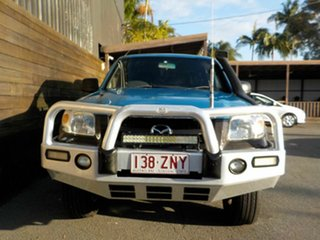 2009 Mazda BT-50 UNY0E4 DX Blue 5 Speed Automatic Utility.
