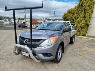 2012 Mazda BT-50 UP0YD1 XT 4x2 Grey 6 Speed Manual Cab Chassis