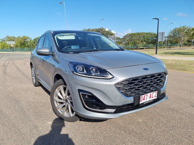 Used Ford Escape ZH 2020.75MY Vignale AWD Townsville, 2020 Ford Escape ZH 2020.75MY Vignale AWD Solar Silver 8 Speed Sports Automatic SUV