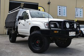 2002 Toyota Hilux KZN165R (4x4) White 5 Speed Manual 4x4 Cab Chassis