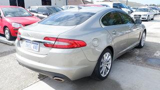 2013 Jaguar XF X250 MY13 Luxury Gold 8 Speed Sports Automatic Sedan