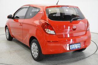 2014 Hyundai i20 PB MY15 Active Red 4 Speed Automatic Hatchback.
