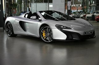 2016 McLaren 650S MY16 Spider SSG 7 Speed Sports Automatic Dual Clutch Convertible.