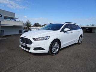 2017 Ford Mondeo MD 2017.00MY Ambiente Frozen White 6 Speed Automatic Wagon.
