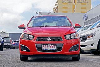 2016 Holden Barina TM MY16 CD Red 5 Speed Manual Hatchback.