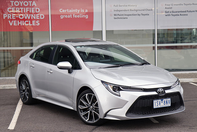 Pre-Owned Toyota Corolla Mzea12R ZR South Morang, 2020 Toyota Corolla Mzea12R ZR Silver Pearl 10 Speed Constant Variable Sedan