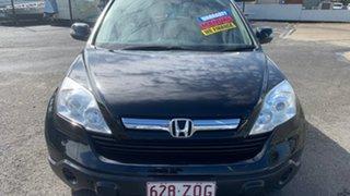 2007 Honda CR-V MY07 (4x4) Black 6 Speed Manual Wagon.