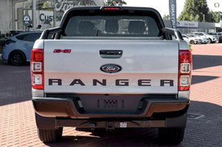 2021 Ford Ranger PX MkIII 2021.75MY FX4 Silver 6 Speed Manual Double Cab Pick Up.