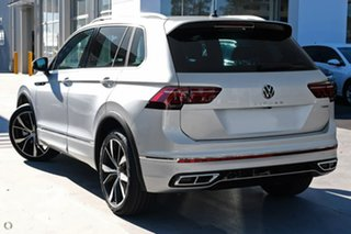 2021 Volkswagen Tiguan 5N MY21 162TSI R-Line DSG 4MOTION Silver 7 Speed Sports Automatic Dual Clutch