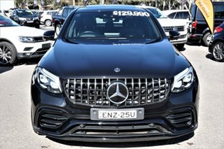 2018 Mercedes-Benz GLC-Class X253 GLC63 AMG SPEEDSHIFT MCT 4MATIC+ S Black 9 Speed Sports Automatic.