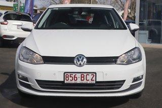 2015 Volkswagen Golf VII MY16 110TSI DSG Highline White 7 Speed Sports Automatic Dual Clutch.