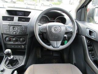 2017 Mazda BT-50 UR0YG1 XT White 6 Speed Manual Utility