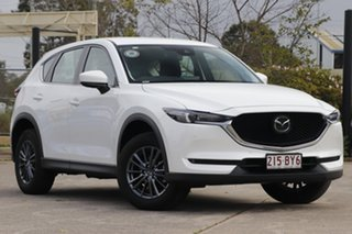 2020 Mazda CX-5 KF4WLA Touring SKYACTIV-Drive i-ACTIV AWD White 6 Speed Sports Automatic Wagon.