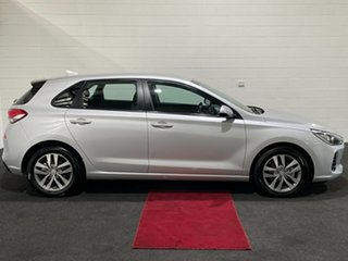 2018 Hyundai i30 PD2 MY19 Active Platinum Silver 6 Speed Sports Automatic Hatchback