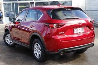 2017 Mazda CX-5 KF2W7A Maxx SKYACTIV-Drive FWD Red 6 Speed Sports Automatic Wagon