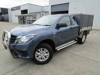 2019 Mazda BT-50 UR0YG1 XT Freestyle Blue 6 Speed Sports Automatic Cab Chassis.