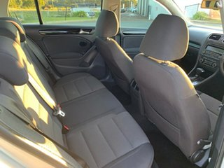 2010 Volkswagen Golf 1K MY10 90 TSI Trendline Silver 7 Speed Auto Direct Shift Wagon