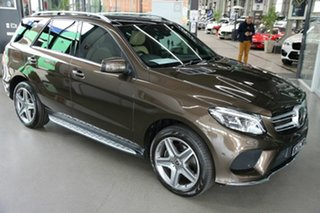 2018 Mercedes-Benz GLE-Class W166 MY808+058 GLE350 d 9G-Tronic 4MATIC Brown 9 Speed Sports Automatic