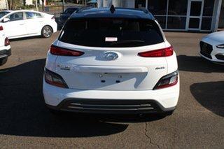 2021 Hyundai Kona Os.v4 MY21 electric Highlander Atlas White & Black Roof 1 Speed Reduction Gear.