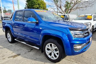 2017 Volkswagen Amarok 2H MY17.5 TDI550 4MOTION Perm Ultimate Blue 8 Speed Automatic Utility.