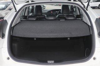 2012 Honda Civic 9th Gen VTi-L Glacier White 5 Speed Sports Automatic Hatchback