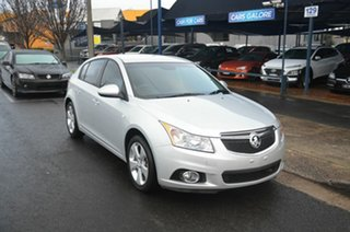 2014 Holden Cruze JH MY14 Equipe Silver 6 Speed Automatic Hatchback.