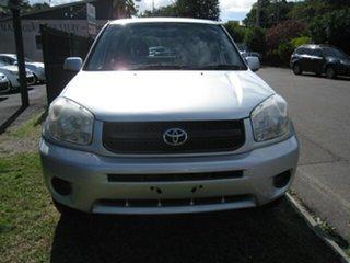 2005 Toyota RAV4 ACA2R CV Silver 4 Speed Automatic Wagon.