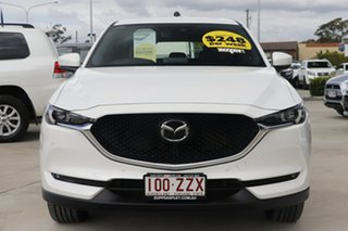 2020 Mazda CX-5 KF4WLA 100th Anniversary SKYACTIV-Drive i-ACTIV AWD White 6 Speed Sports Automatic
