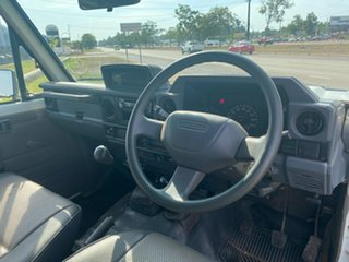 1999 Toyota Landcruiser HZJ78R Troopcarrier White 5 Speed Manual Wagon