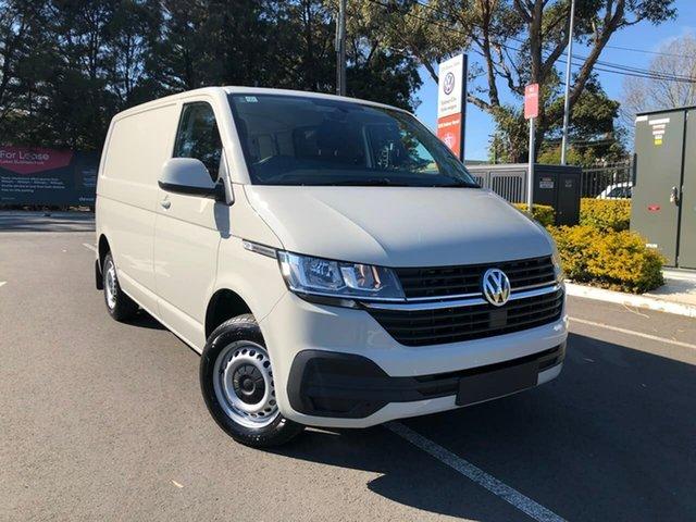 New Volkswagen Transporter T6.1 MY21 TDI340 SWB DSG Botany, 2021 Volkswagen Transporter T6.1 MY21 TDI340 SWB DSG Grey 7 Speed Sports Automatic Dual Clutch Van