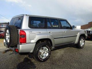 2005 Nissan Patrol GU IV ST (4x4) Silver 4 Speed Automatic Wagon.