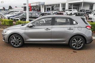 2021 Hyundai i30 PD.V4 MY21 Elite Silver 6 Speed Sports Automatic Hatchback