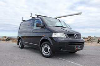 2007 Volkswagen Transporter T5 MY08 Low Roof Black 5 Speed Manual Van.