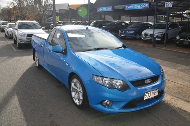 Used Ford Falcon FG Upgrade XR6T Toowoomba, 2010 Ford Falcon FG Upgrade XR6T Blue 6 Speed Auto Seq Sportshift Utility