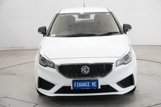 2020 MG MG3 SZP1 MY21 Core Dover White 4 Speed Automatic Hatchback.
