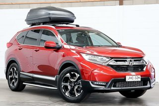 2017 Honda CR-V RW MY18 VTi-LX 4WD Red 1 Speed Constant Variable Wagon.
