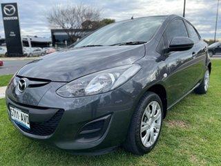 2012 Mazda 2 DE10Y2 MY12 Neo Meteor Grey 4 Speed Automatic Hatchback.