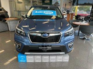 2021 Subaru Forester S5 MY21 Hybrid L CVT AWD Horizon Blue 7 Speed Constant Variable Wagon Hybrid.
