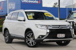 2017 Mitsubishi Outlander ZK MY17 LS 2WD Safety Pack White 6 Speed Constant Variable Wagon.