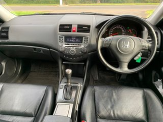 2007 Honda Accord Euro 7th Gen Luxury Silver Automatic Sedan