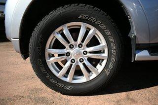 2016 Mitsubishi Pajero NX MY17 GLX LWB (4x4) Silver 5 Speed Auto Sports Mode Wagon.
