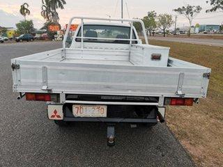 2004 Mitsubishi Triton MK MY04 GLX 4x2 White 4 Speed Automatic Cab Chassis